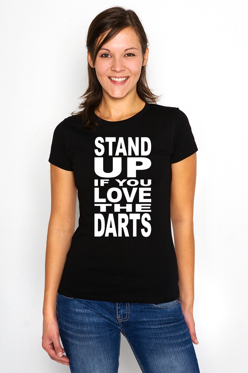 Stand up if you Love the Darts Vorlage